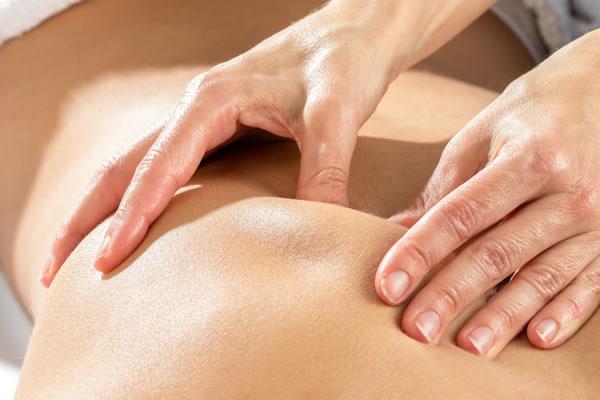 Massage des Bindegewebes